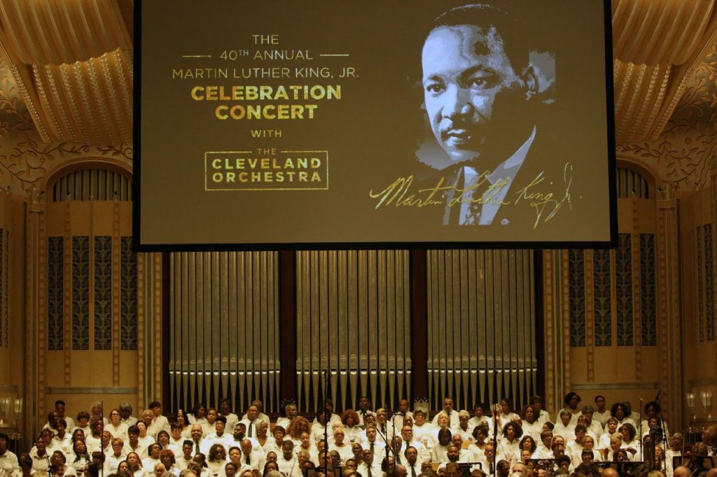 40th Annual Martin Luther King Jr. celebration concert with The Cleveland Orchestra